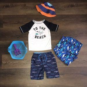 Swim Shirt & Trunks Bundle